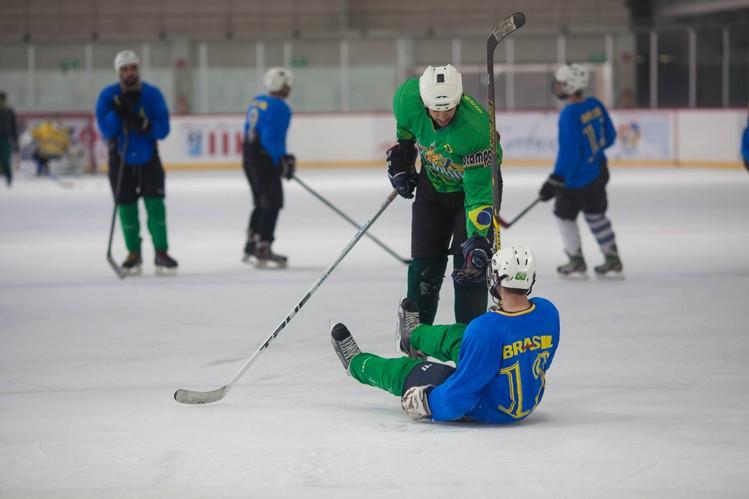 Brazil's Ice Hockey B