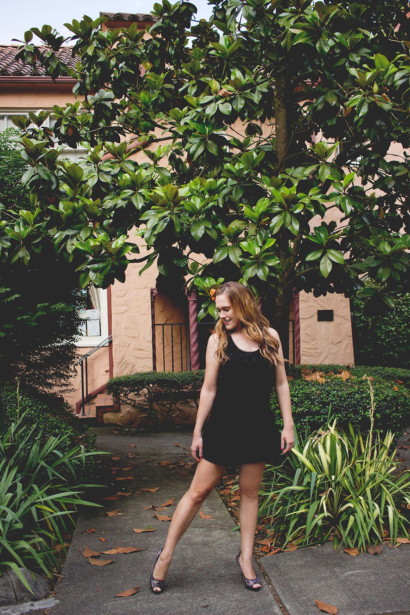 Flower Hair Ideas - Katherine Chloe Cahoon B