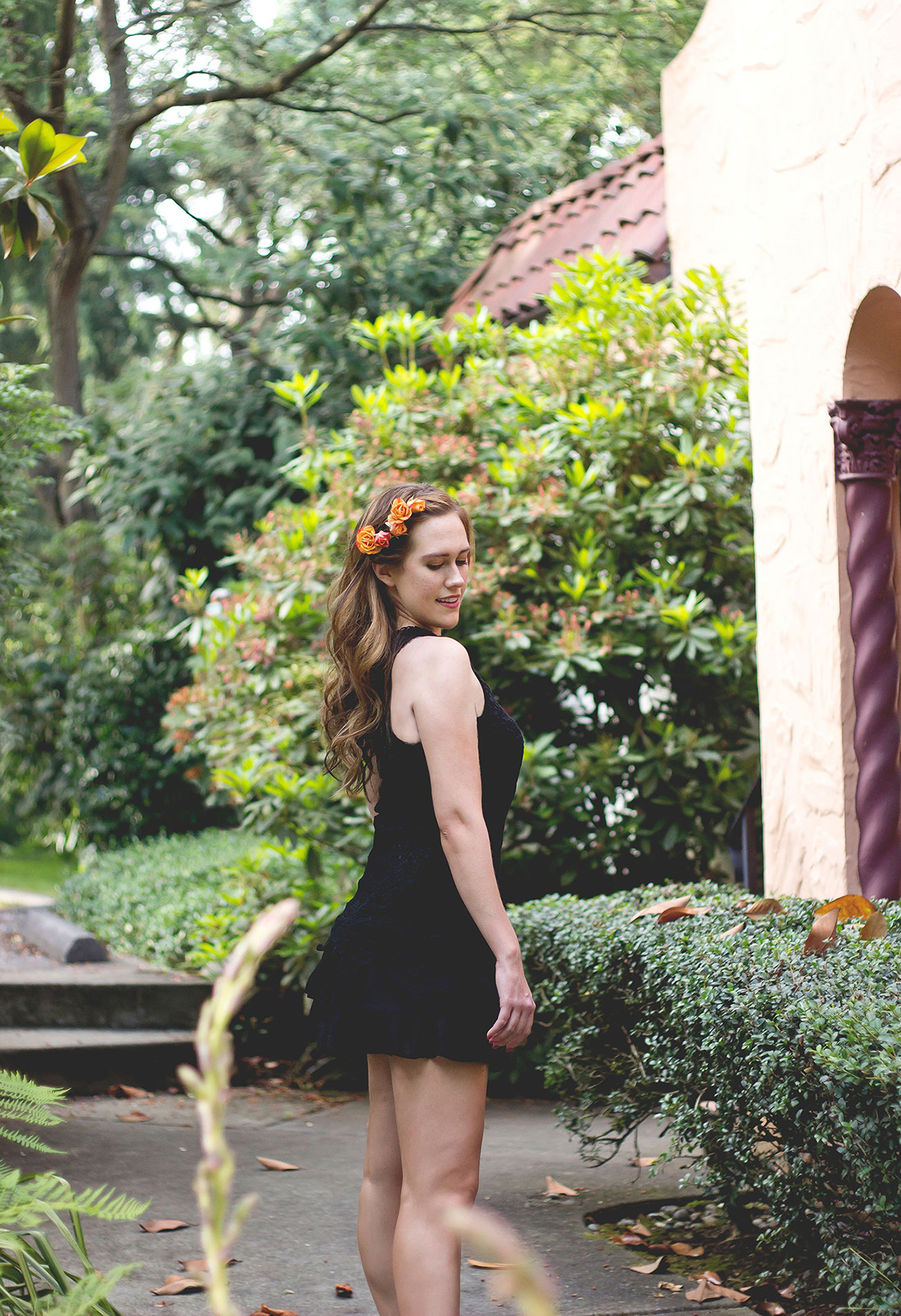 Flower Hair Ideas - Katherine Chloe Cahoon C