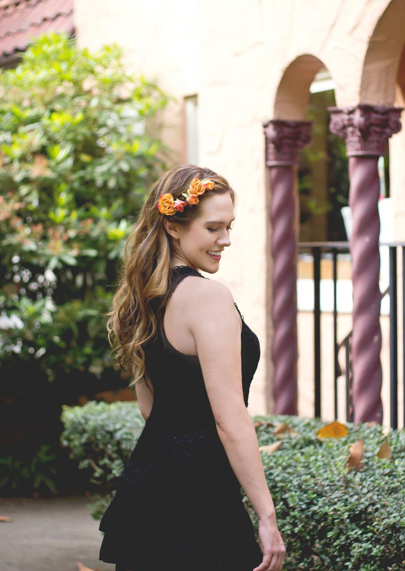 Flower Hair Ideas - Katherine Chloe Cahoon G