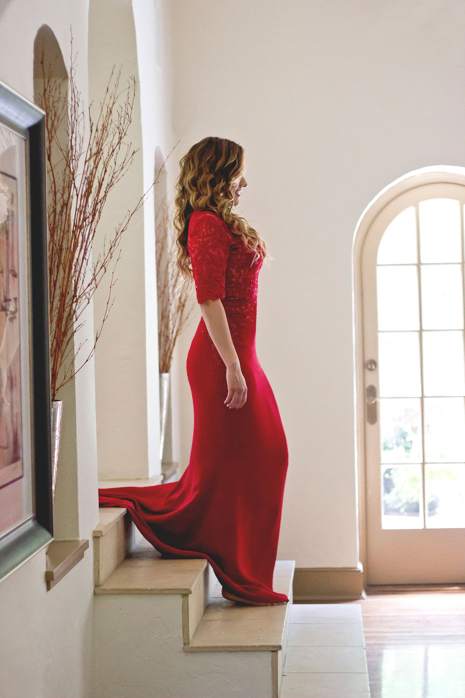 Total Immersion With Red Dress C