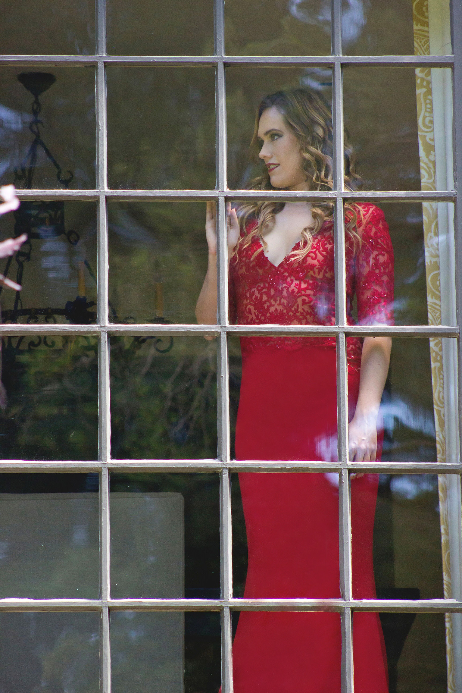 Total Immersion With Red Dress H