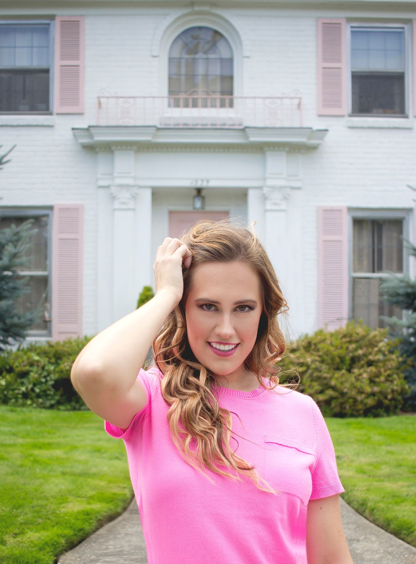 As Promised Pink Top From Katherine Chloe Cahoon A