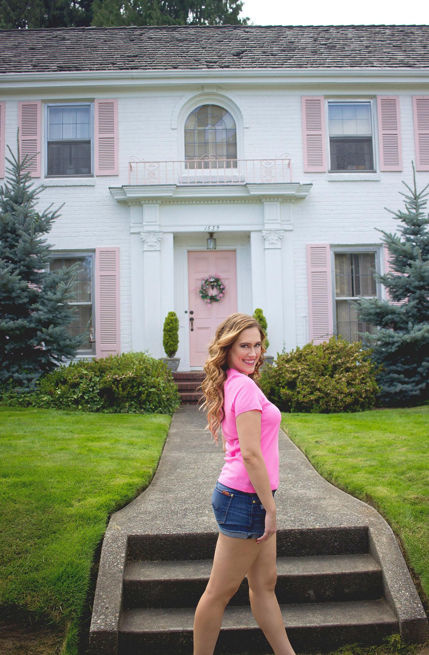 As Promised Pink Top From Katherine Chloe Cahoon B