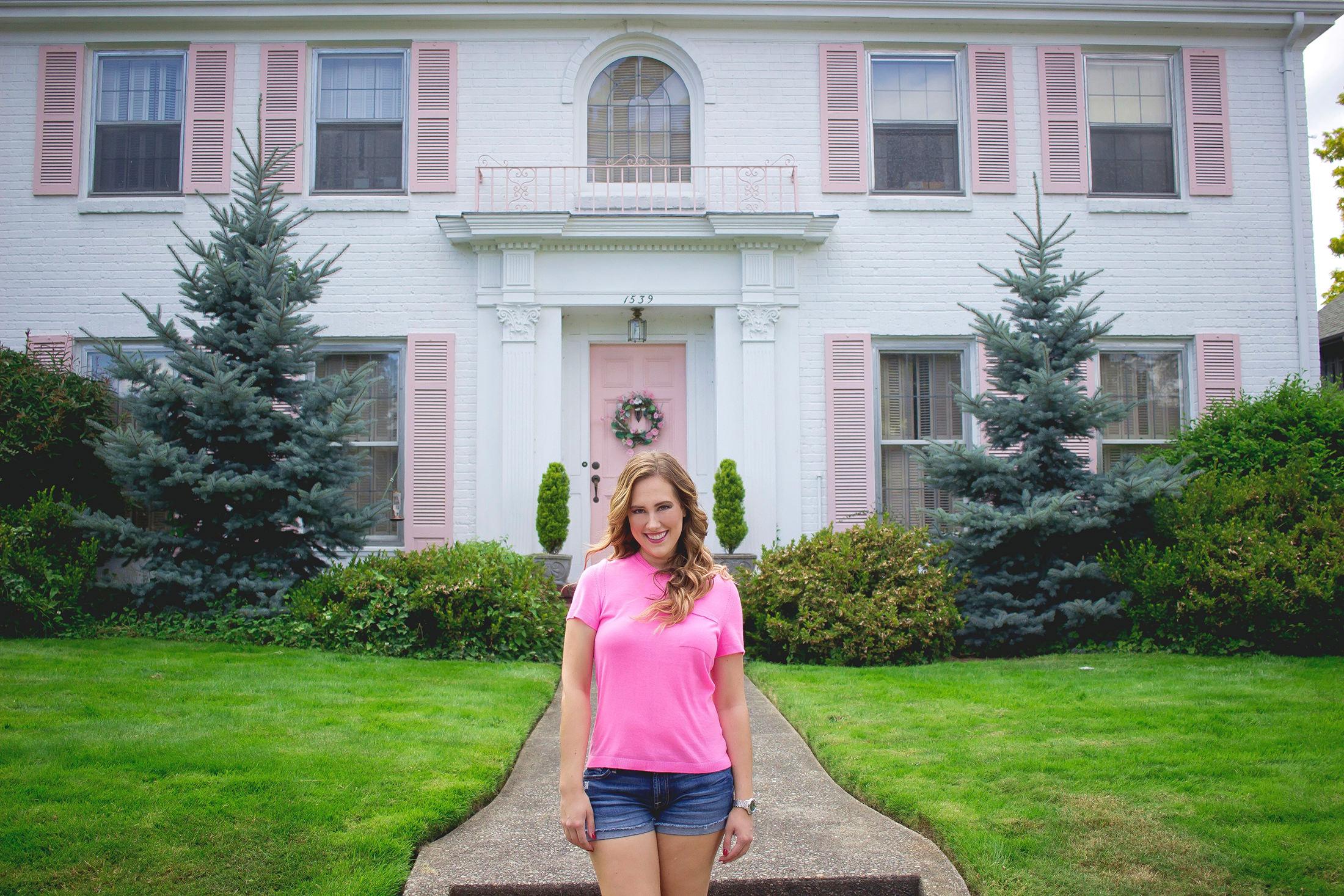 As Promised Pink Top From Katherine Chloe Cahoon C