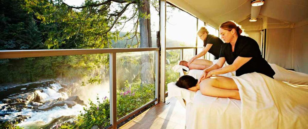 Travel Talk Relaxing Retreat Spa A
